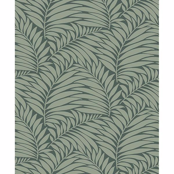 Picture of Myfair Olive Leaf Wallpaper