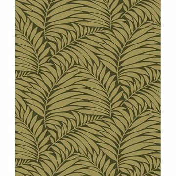 Picture of Myfair Moss Leaf Wallpaper