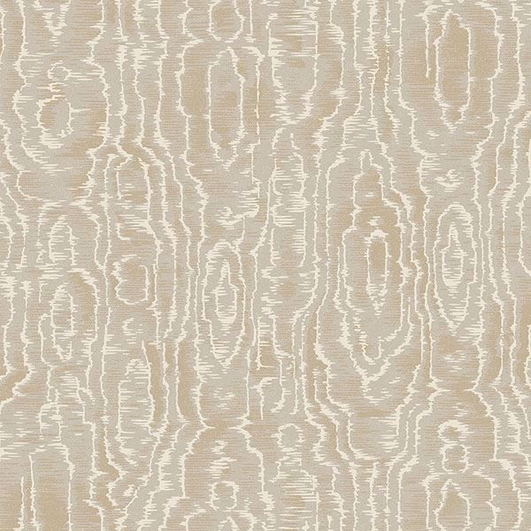 Picture of Salento Taupe Abstract Wallpaper