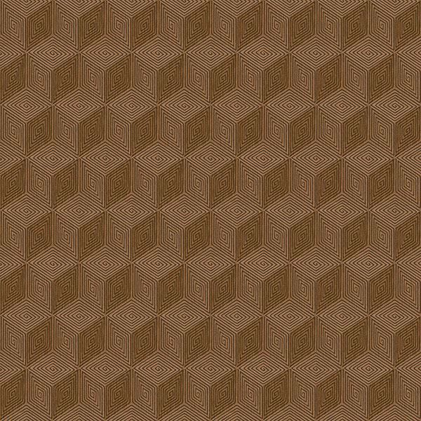 Picture of Claremont Gold Geometric Wallpaper