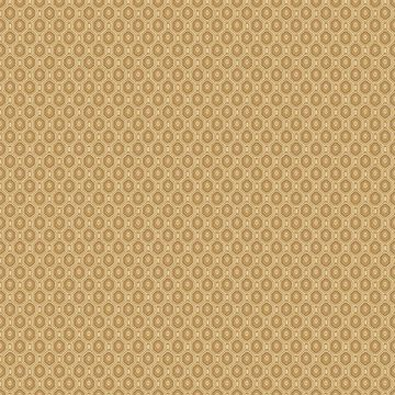 Picture of Ambassador Orange Geometric Wallpaper