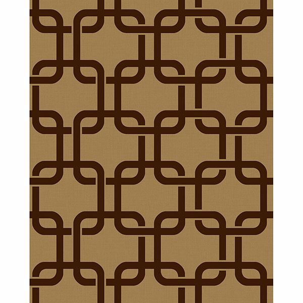 Picture of Waldorf Brown Links Wallpaper