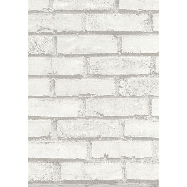 Picture of Brick White Adhesive Film