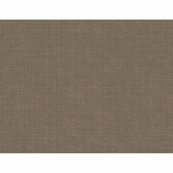 Picture of Alix Dark Brown Twill Wallpaper