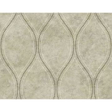 Picture of Eira Light Brown Marble Ogee Wallpaper