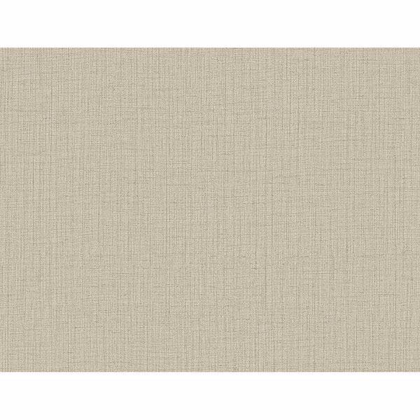 Picture of Oriel Light Brown Fine Linen Wallpaper