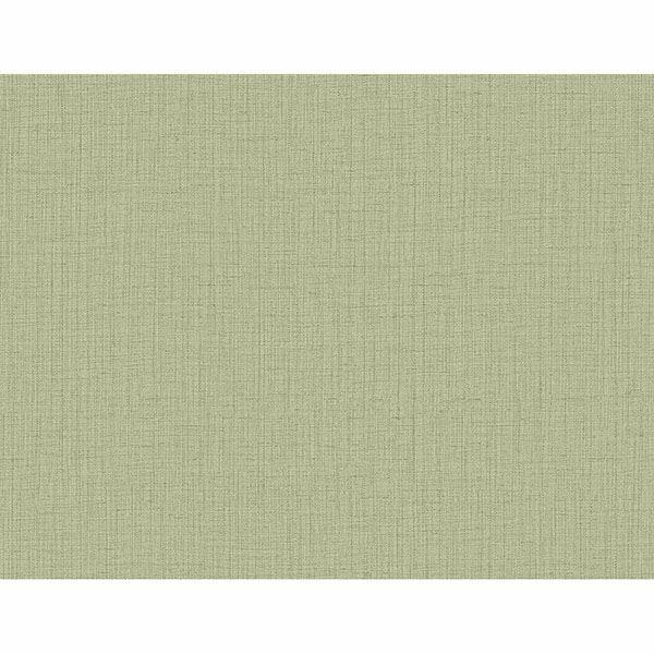 Picture of Oriel Light Green Fine Linen Wallpaper