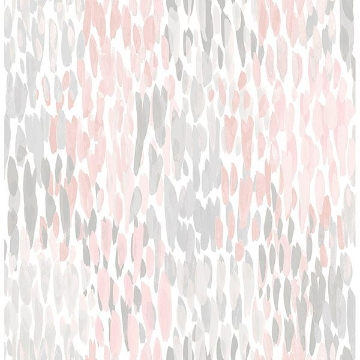 Picture of Blush Make It Rain Peel & Stick Wallpaper