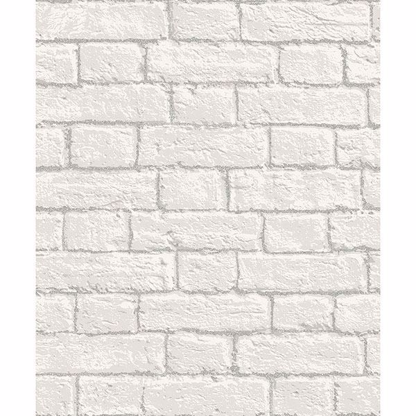 Picture of Ditmas White Brick Wallpaper