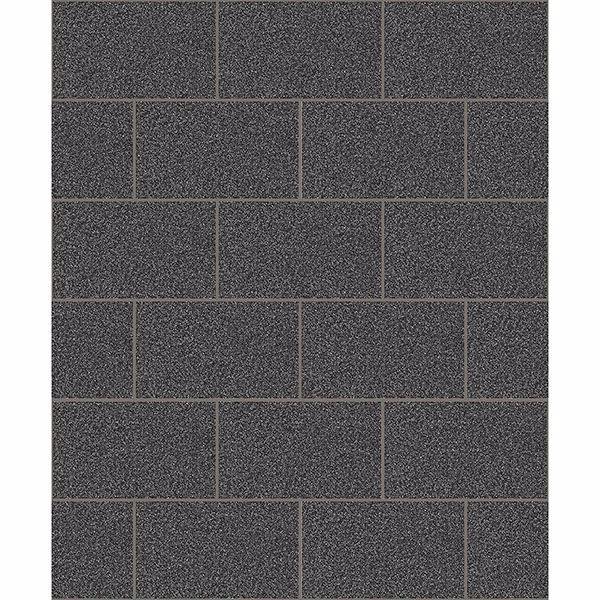 Picture of Joan Black Tile Wallpaper