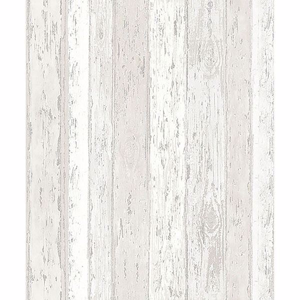 Picture of Cannon Cream Distressed Wood Wallpaper