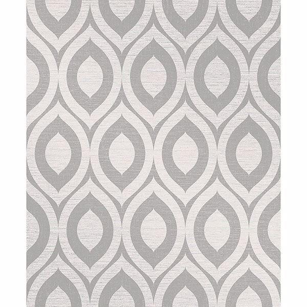 Picture of Rimini Grey Geometric Wallpaper