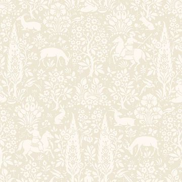 Picture of Sherwood Cream Woodland Wallpaper