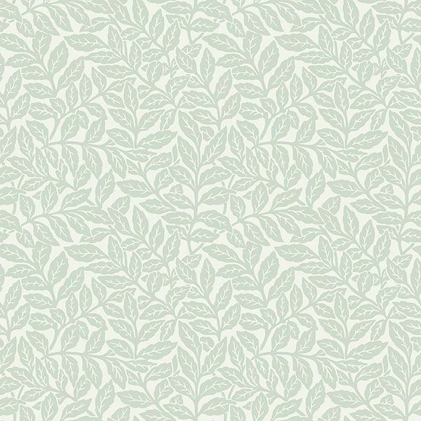 Picture of Ashe Light Green Trails Wallpaper