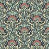 Picture of Donovan Moss Nouveau Floral Wallpaper