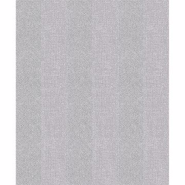 Picture of Audrey Light Grey Tweed Stripe Wallpaper
