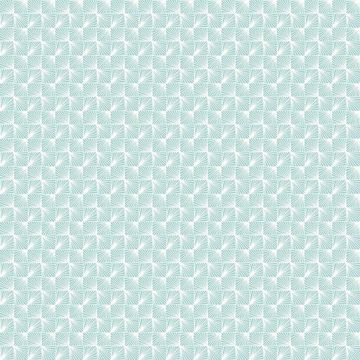 Picture of Stockholm Aqua Geometric Wallpaper