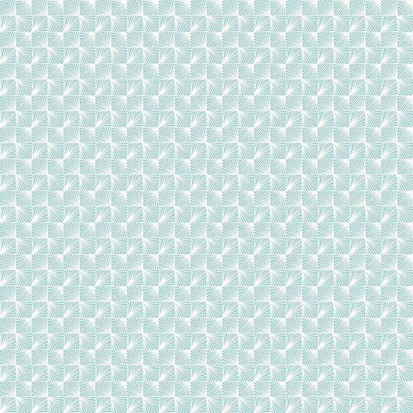Picture of Stockholm Aqua Geometric Wallpaper