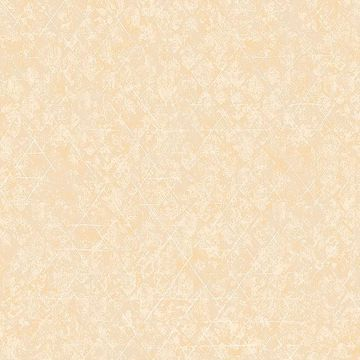 Picture of Jessica Light Yellow Geometric Wallpaper