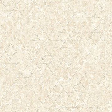 Picture of Jessica Beige Geometric Wallpaper