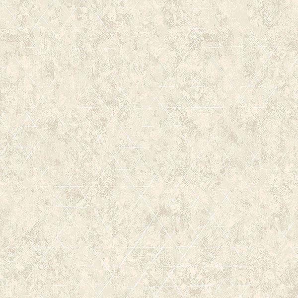 Picture of Jessica Light Grey Geometric Wallpaper
