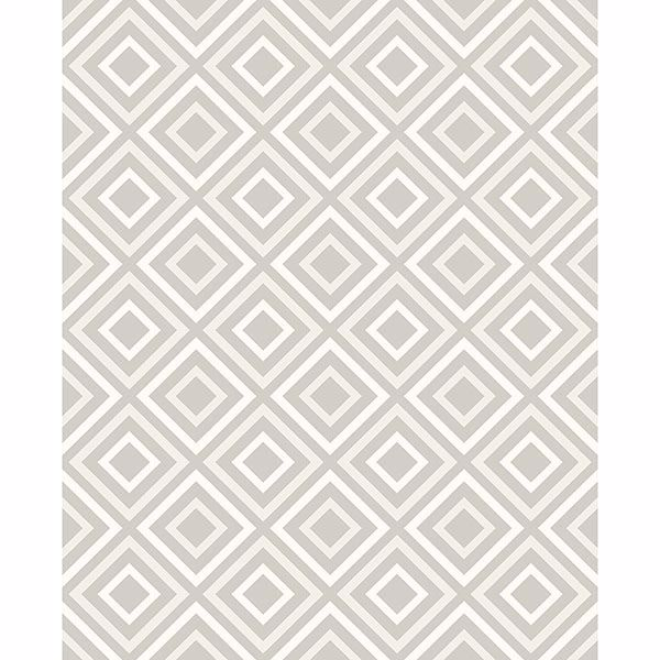 Picture of Horus Silver Diamond Geo Wallpaper