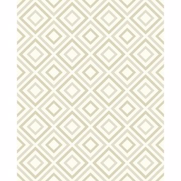Picture of Horus Champagne Diamond Geo Wallpaper
