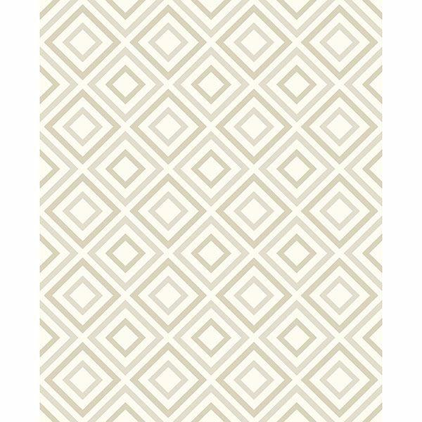 Picture of Horus Champagne Diamond Geo Wallpaper