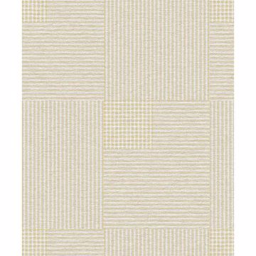 Picture of Ronald Beige Squares Wallpaper