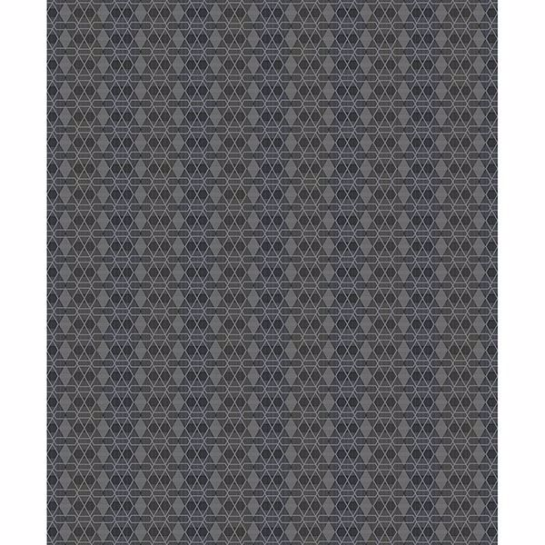 Picture of Taylor Charcoal Diamond Wallpaper
