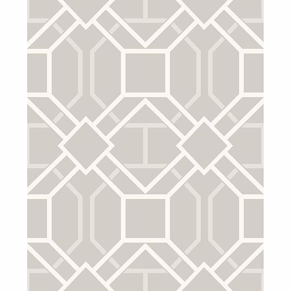 Picture of Dauphin Bone Lattice Wallpaper