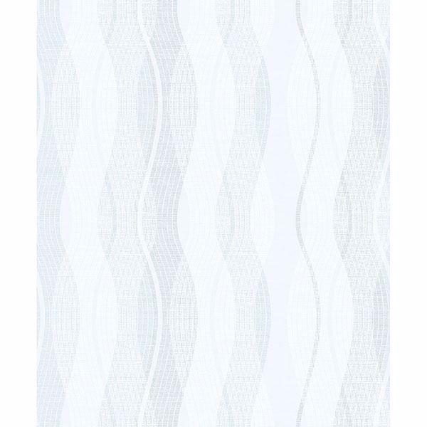 Picture of Jenner Light Blue Wave Wallpaper
