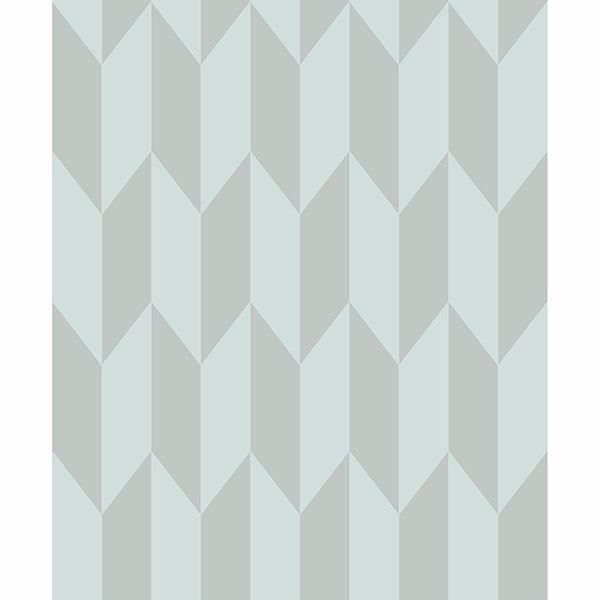 Picture of Roland Light Blue Arrow Wallpaper