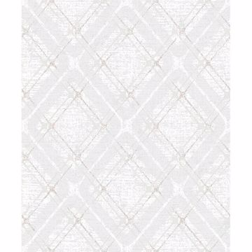 Picture of Hadley Light Grey Argyle Wallpaper