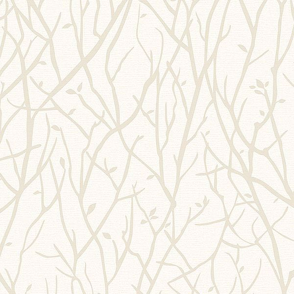 Picture of Kaden Ivory Branches Wallpaper