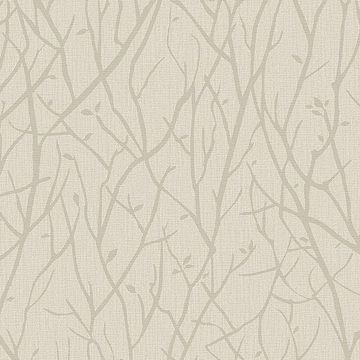 Picture of Kaden Beige Branches Wallpaper