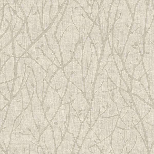 Picture of Kaden Beige Branches Wallpaper