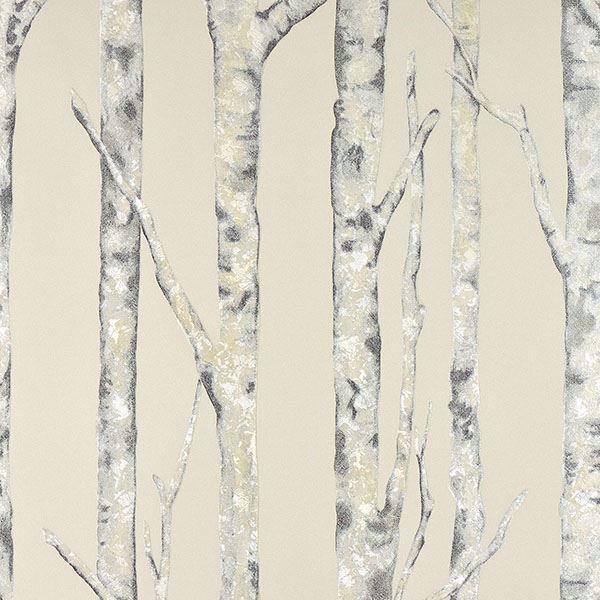 Picture of Cameron Cream Trees Wallpaper