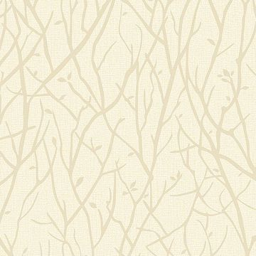 Picture of Kaden Champagne Branches Wallpaper