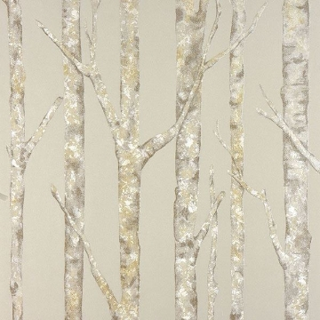 Picture of Cameron Beige Trees Wallpaper