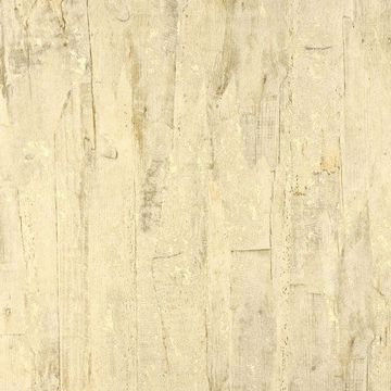 Picture of Lindens Light Yellow Wood Wallpaper