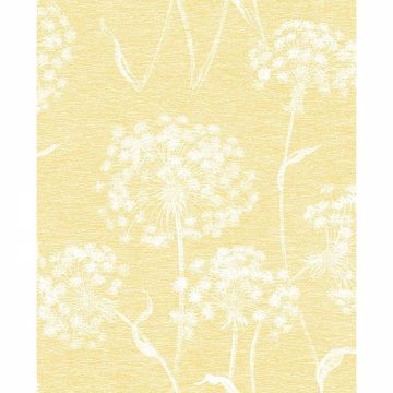 Picture of Carolyn Yellow Dandelion Wallpaper