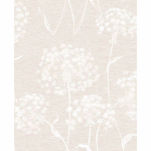 Picture of Carolyn Cream Dandelion Wallpaper
