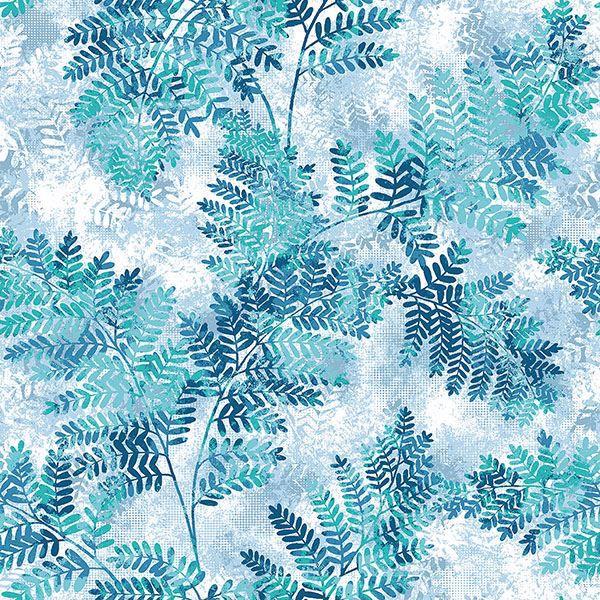 Picture of Cyathea Blue Fern Wallpaper