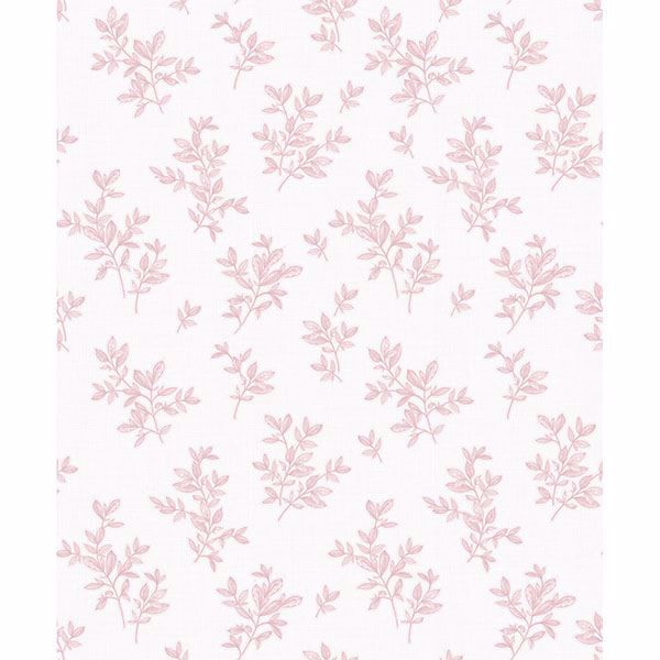Picture of Pothos Pink Toss Wallpaper