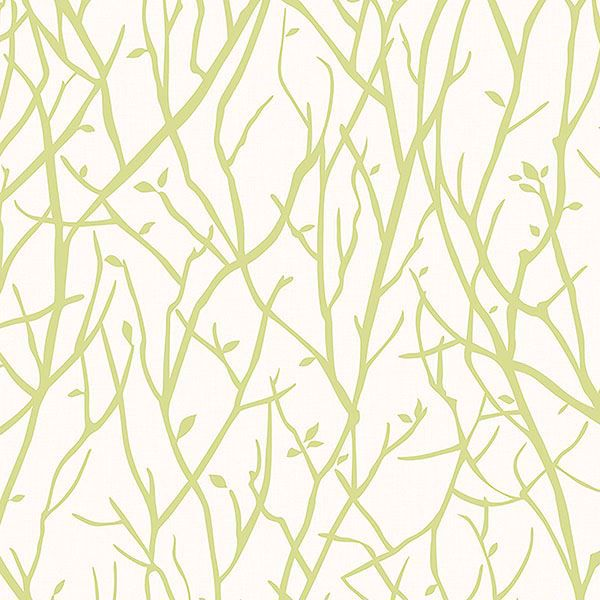 Picture of Kaden Lime Branches Wallpaper