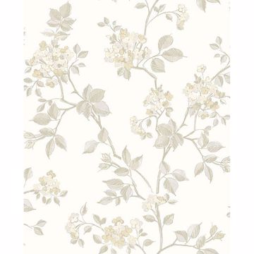 Picture of Parry Bone Floral Wallpaper