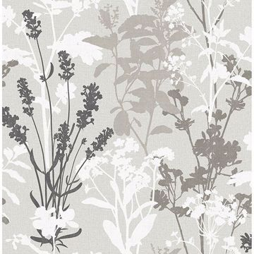 Picture of Santa Lucia Multicolor Wild Flowers Wallpaper