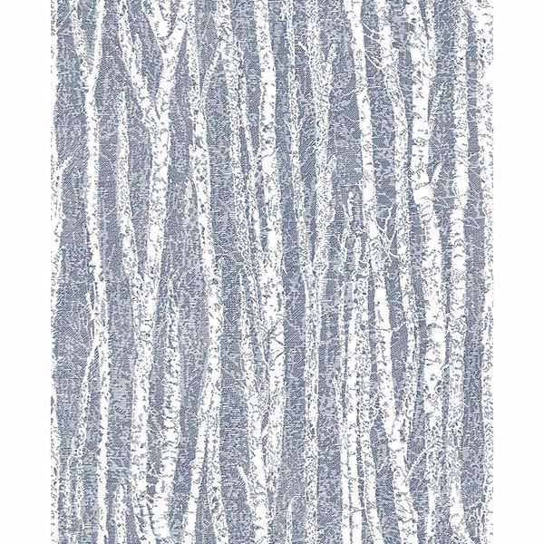 Picture of Toyon Blue Birch Tree Wallpaper