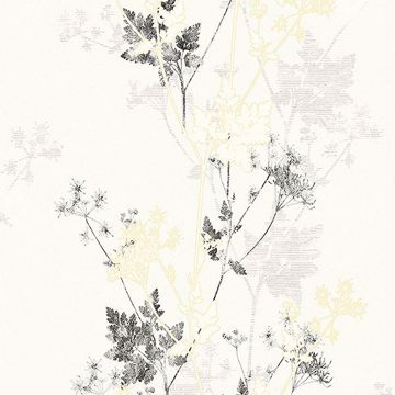 Picture of Tara Ivory Sprig Wallpaper